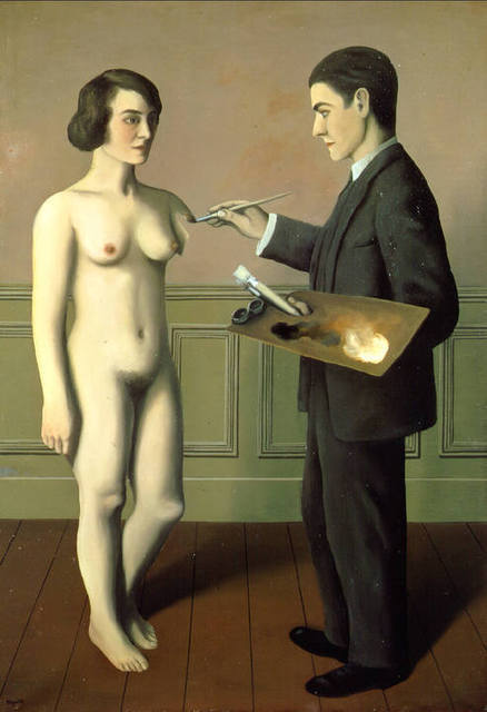 rene magritte-la tentative de'impossible