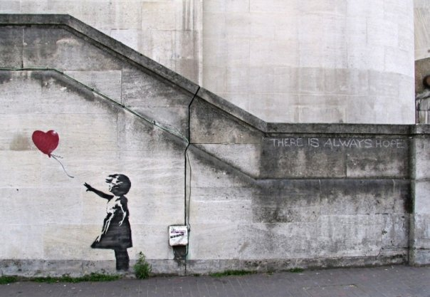 banksy-there is always hope