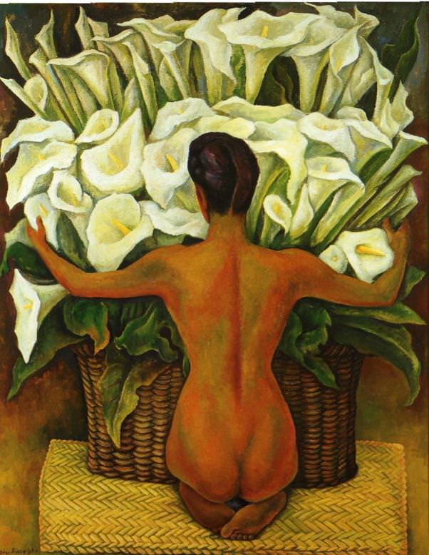 Nude-with-Calla-Lilies-1944-Oil-on-hardboard